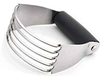 Xelparuca - Batidora de masa profesional superior con cuchillas de acero inoxidable (negro-mediano