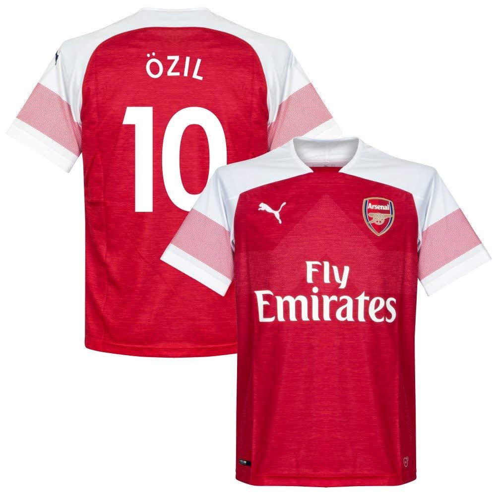 Arsenal Home Trikot Boys 2018 2019 + Özil 10 (Fan Style)