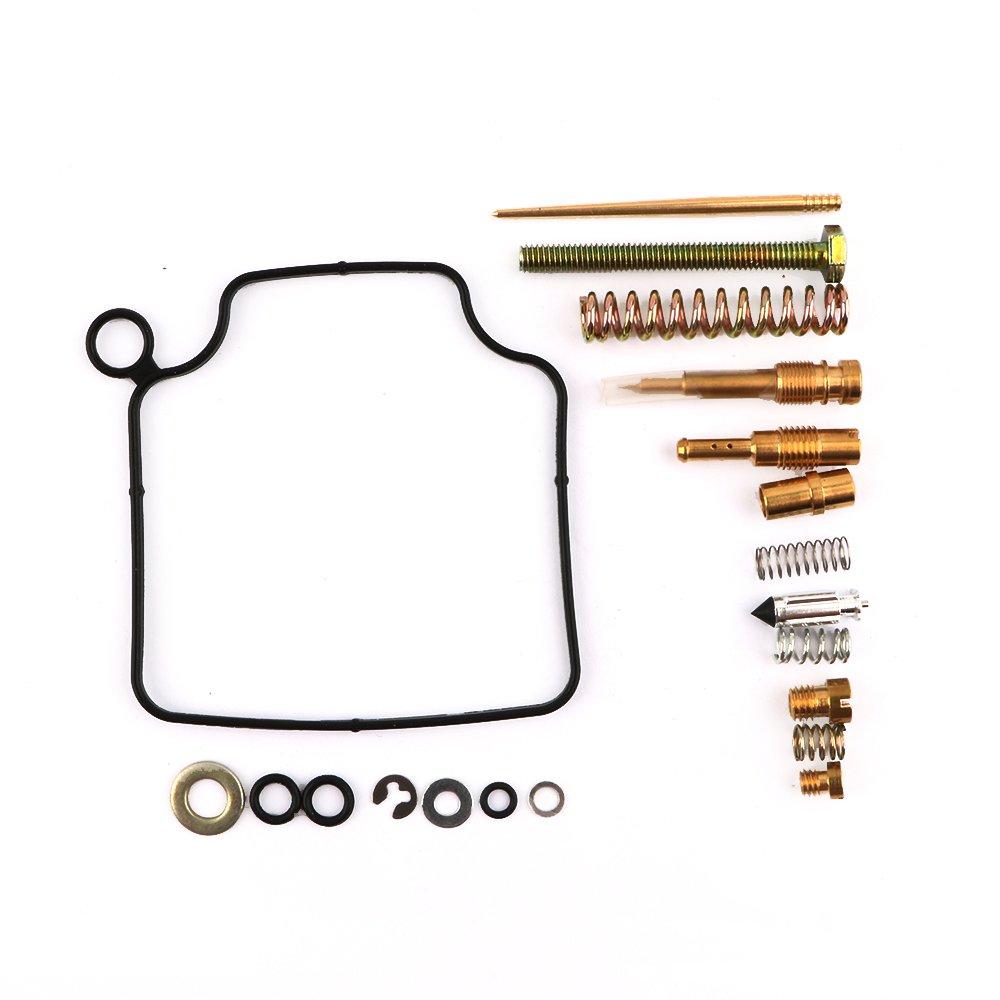 Carburetor Rebuild Kit Carb Repair for Honda TRX 300 TRX300 Fourtrax 1993-2000 (1993 1994 1995 1996 1997 1998 1999 2000) By Mopasen