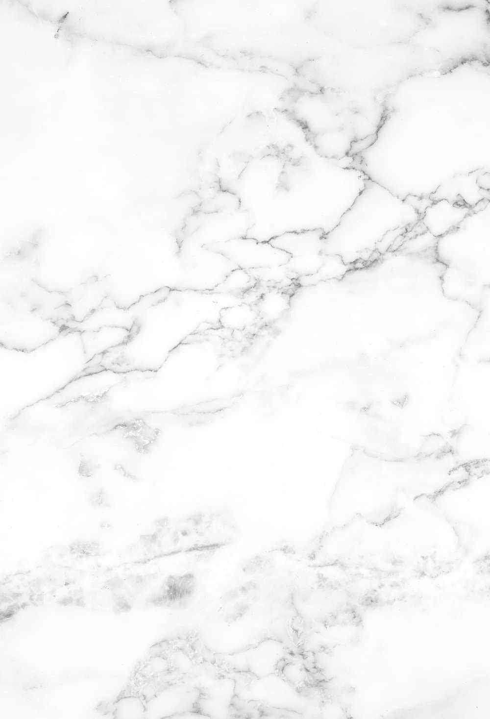 HUAYI 2x3ft White Marble Backdrop Rolled up with no Wrinkles Smash Cake Backdrop Small Background for Photography Canvas Food Photo Studio Props for Pictures