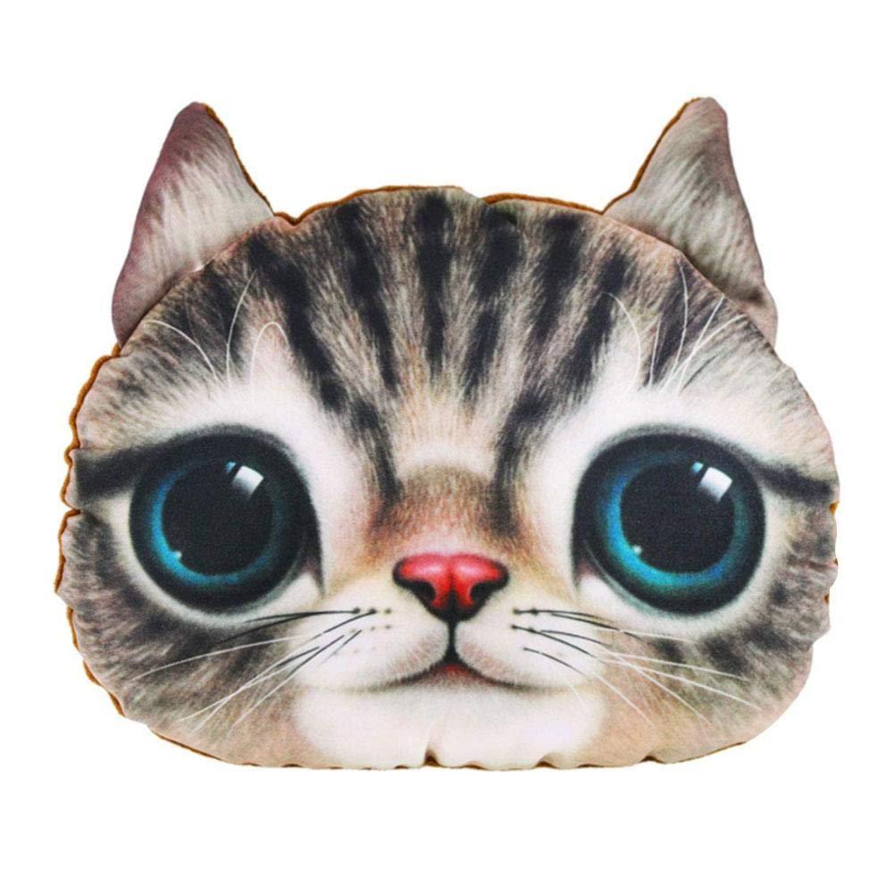 332PageAnn - Cuscino ortopedico a forma di gatto, per poggiatesta auto