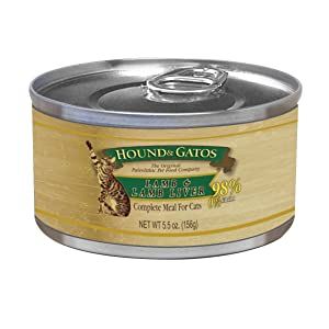 Hound & Gatos Pet Food Chicken Formula Canned Cat Food