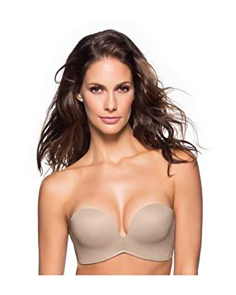 268f58d07fe Leonisa Extreme Push Up Strapless Bra at Amazon Women s Clothing store  Bras