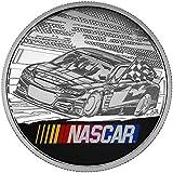 2016 CA NASCAR® 1oz. Fine Silver Medallion Mintage:30000 Collection Mint State