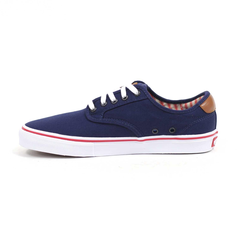 803c8e8b34712e Galleon - Vans CHIMA FERGUSON Pro Navy Red Skateboard Shoes-Men 11.0 ...