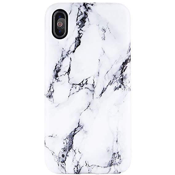 info for b44c3 7ff7d iPhone X Case, iPhone Xs Case,Black and White Marble Design, DICHEER Clear  Bumper Glossy TPU Soft Rubber Silicone Cover Phone Case for iPhone X/iPhone  ...