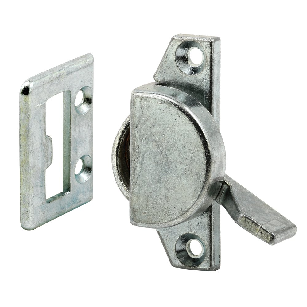 Prime-Line Products F 2508 Sliding Window Cam Latch with Keeper Zinc//Diecast