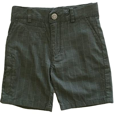 Appaman Little Boy's Board Shorts Windowpane Plaid