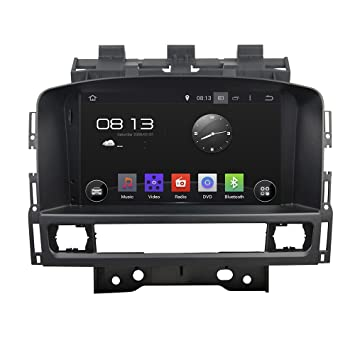 Android 6.0 Octa Core 1024 * 600 Coche Reproductor de DVD GPS navegación Multimedia estéreo de