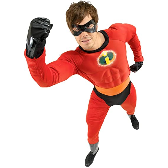 Fancy Dress Mr. Incredible Costume - Chest Size 38-42 Inches  sc 1 st  Amazon UK & Fancy Dress Mr. Incredible Costume - Chest Size 38-42 Inches: Amazon ...
