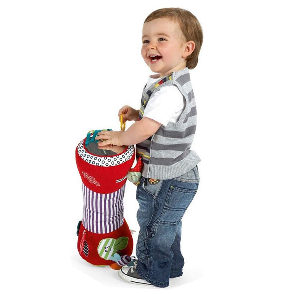 juguete de fitness para beb/é juguete de peluche suave para beb/é Helevia 1 beb/é multifunci/ón juguete de fitness con rodillos para gatear