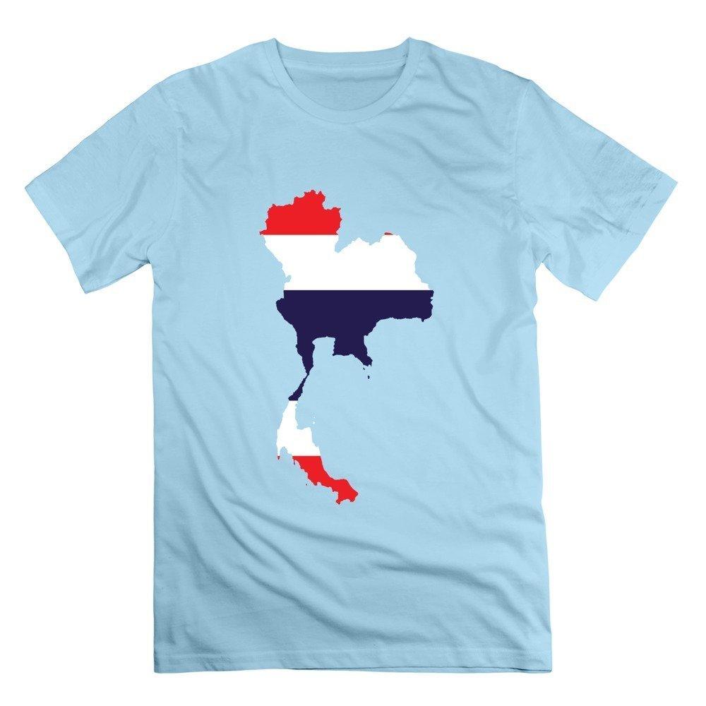 Fzlb S Thailand Map Flag T Shirt Deepheather