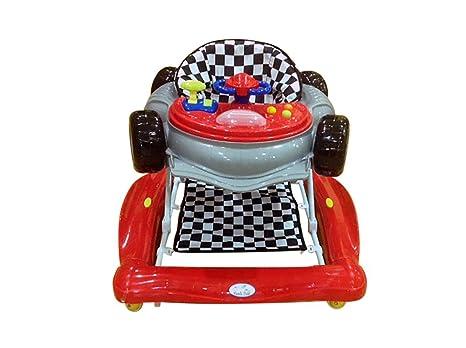 Andador y balancín para bebé, diseño fórmula 1 rojo. Tacatá y balancín. 2 en 1.