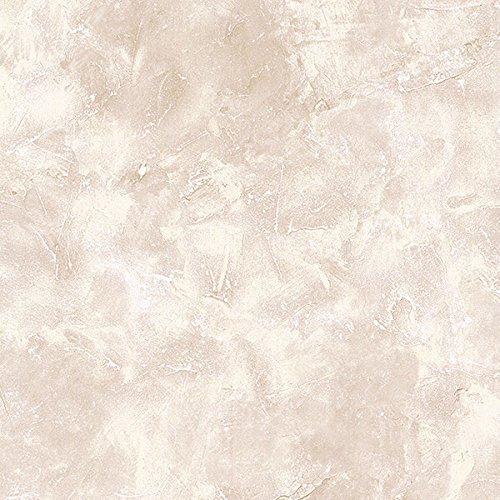 Manhattan Comfort NWKB10915 Crystal Faux Crackle Textured Wallpaper, Cream, Taupe, Bone