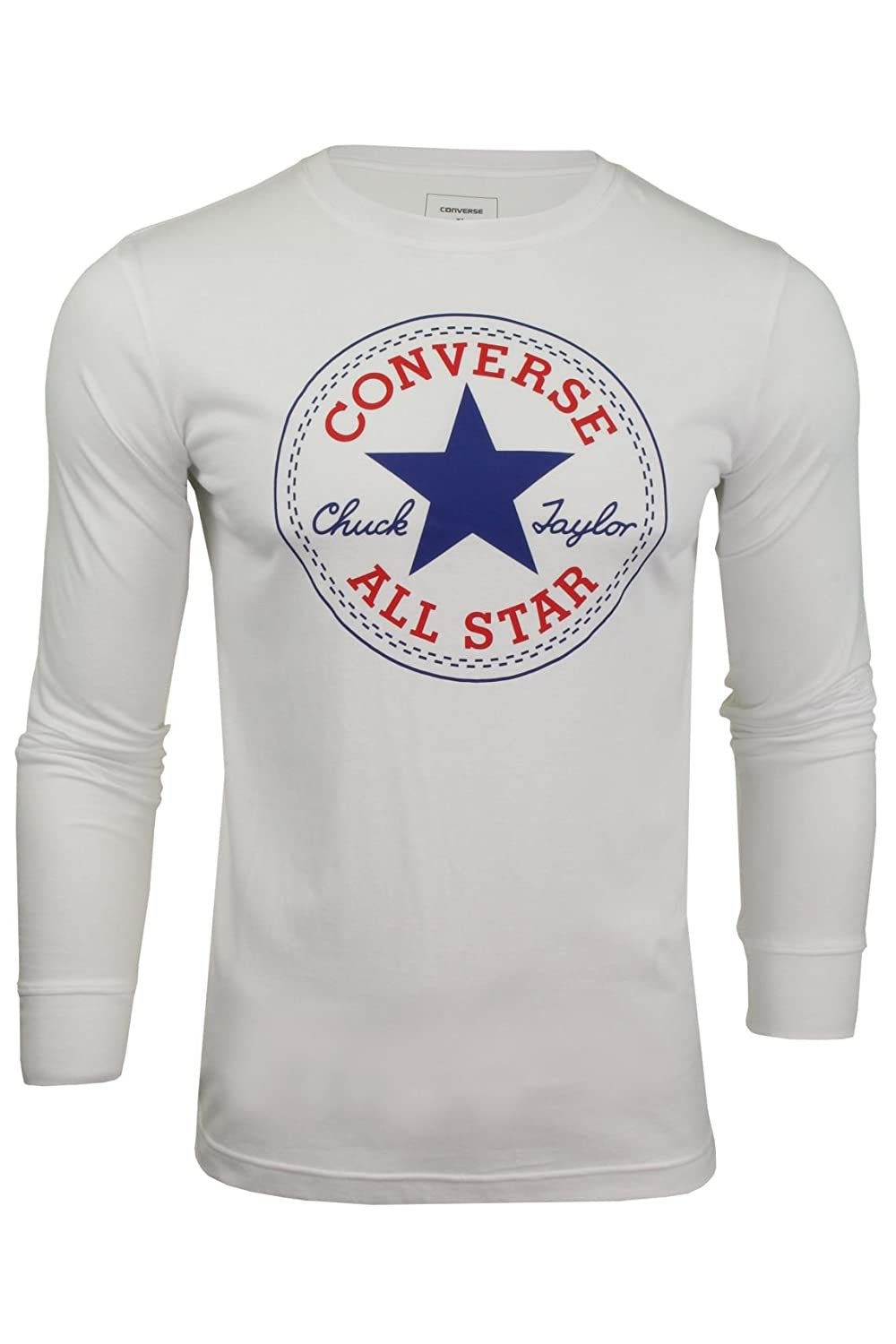 Converse Boys Chunk Patch Long Sleeved T-Shirt
