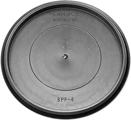 1 1 inch Flush Mount Black Plastic Body and Sheet Metal Hole Plug Qty 10 Caplugs BPF