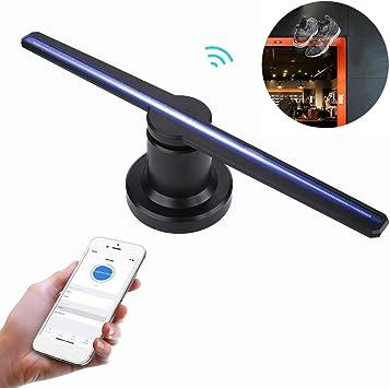 SDlight 3D Holográfica Proyector LED Display Holograma Publicidad ...