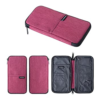 64a253d61b06 Naturehike Multi-Function Travel Bag Purse Case Passport Credit ID Card  Cash Document Wallet All in One