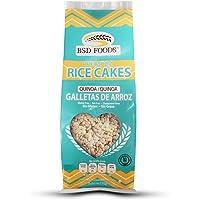 BSD Foods Galletas de Arroz, Quinoa, 2 bolsitas