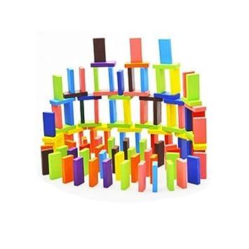 amazon hljgift hljgift 240pcs dominos set wooden block game