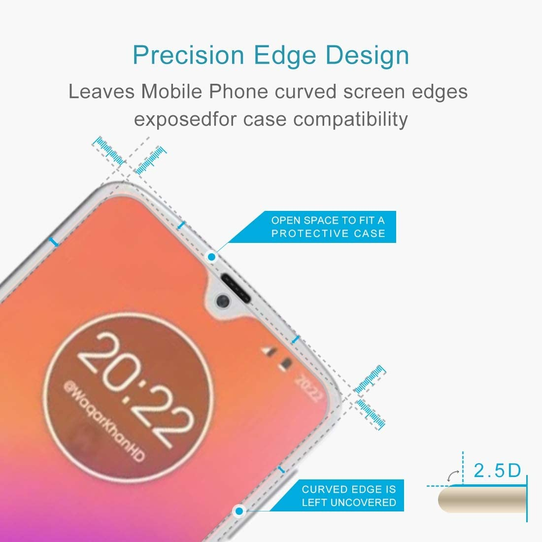 100 PCS for BQ Aquaris X5 Plus 0.26mm 9H Surface Hardness 2.5D Explosion-Proof Tempered Glass Screen Film Clear YINZHI Screen Protector Film