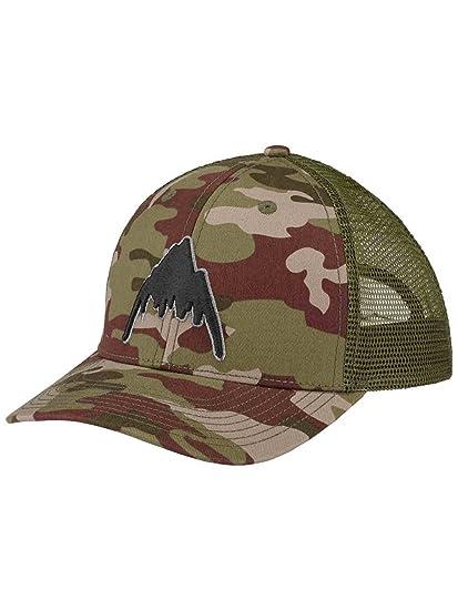 Amazon.com  Burton Harwood Snapback Trucker Hat Brush Camo  Clothing 09cbb48f041