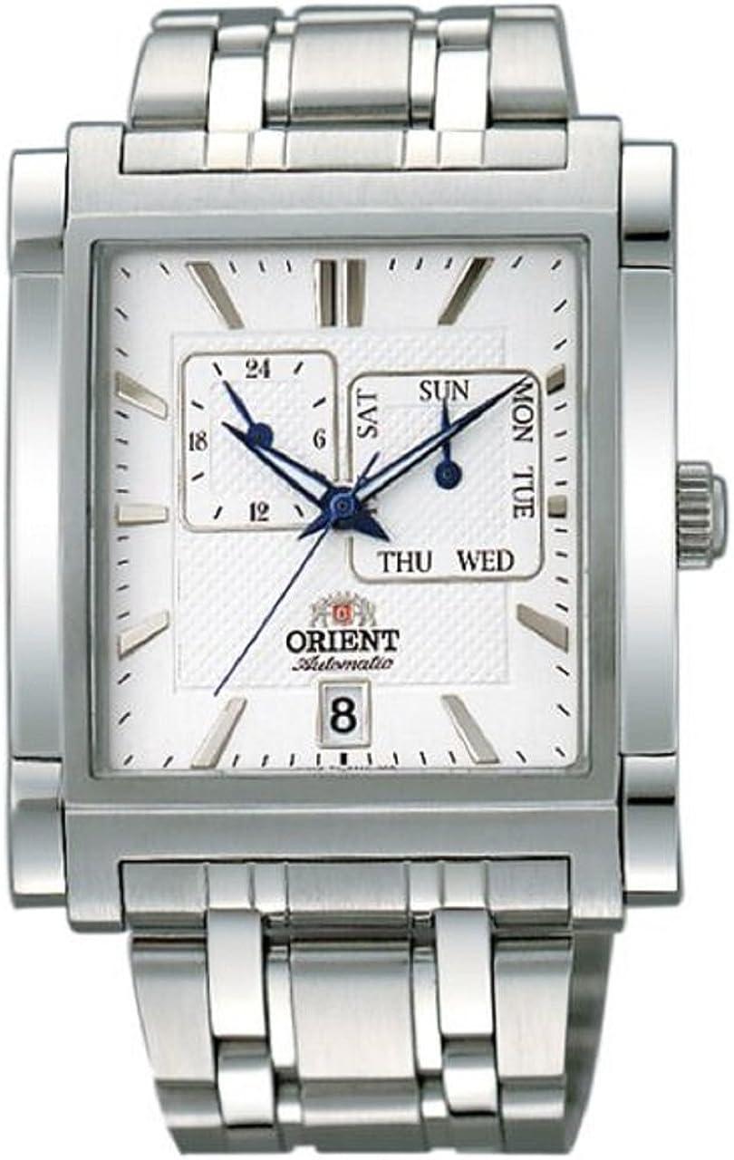 Elegante reloj de pulsera para hombre Orient mecánico FETAC002W0