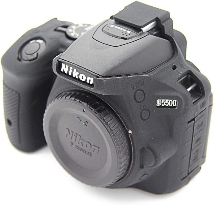 Funda de Silicona Carcasa de Silicona para cámara Nikon D5500 ...