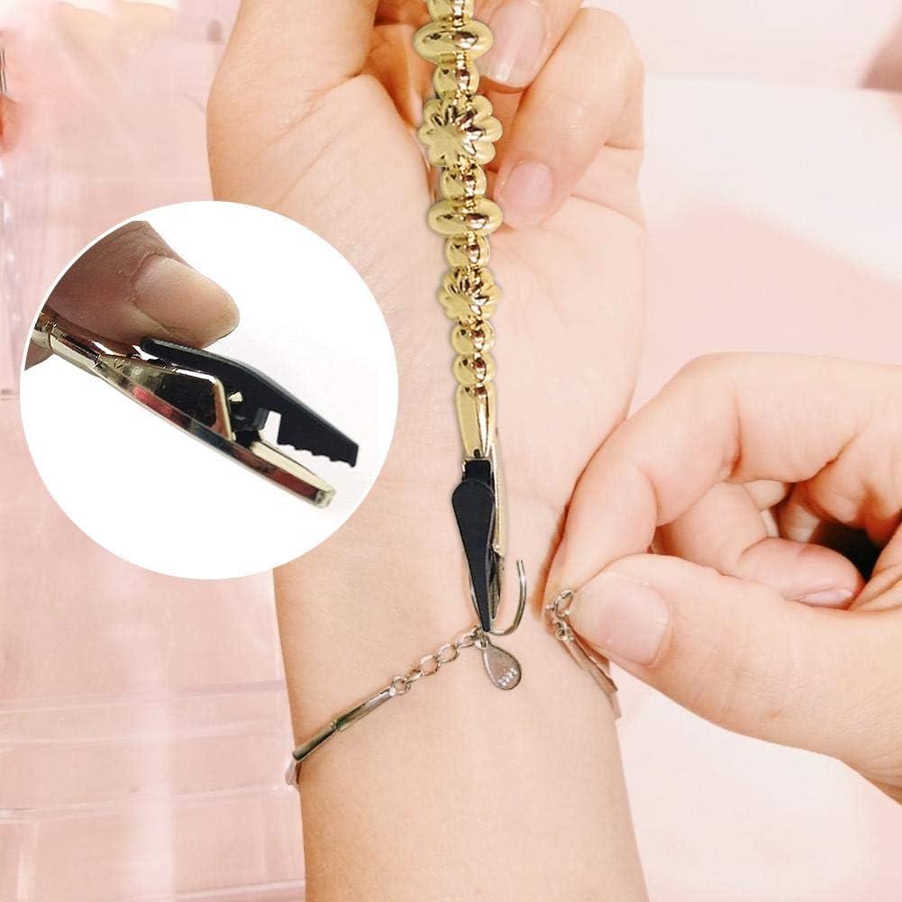 offre de raccordement pour colliers aide de fixation de bracelet fun assistant de bijouterie attachez et lib/érez rapidement des bracelets et des montres pour femme TOMATION Aide de bracelet