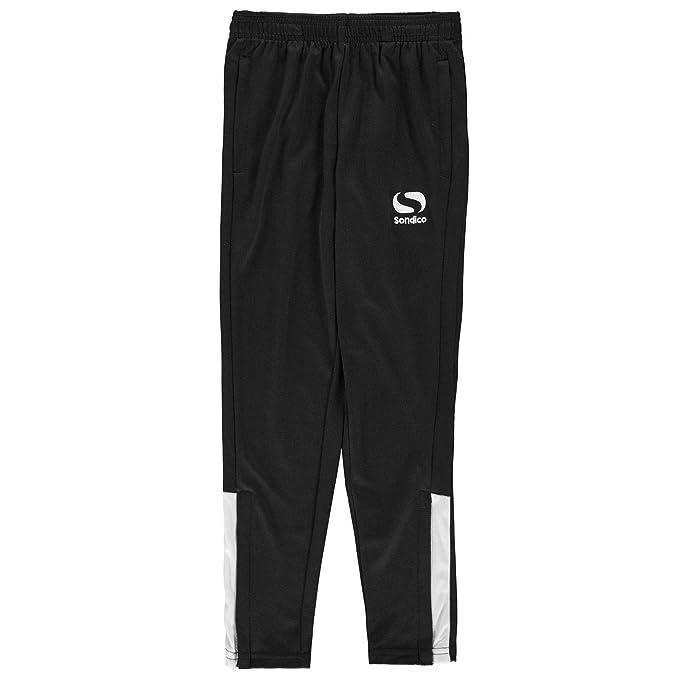 sneakers detailed look uk store Sondico Kids Strike Training Pants Trousers Jogging Bottoms Junior Boys Zip