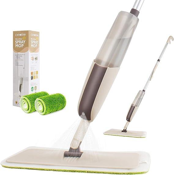 750 ml Spray Mop par projection d/'eau Sol Nettoyant carrelage microfibre marbre cuisine