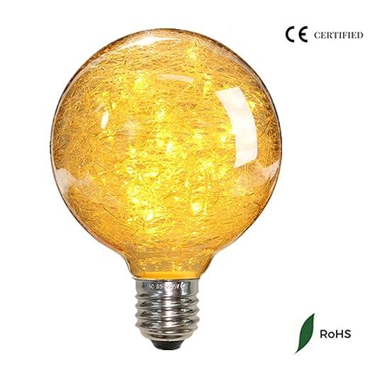 30 opinioni per Elfeland Nest design E27 lampadina LED Edison 50LED luci della stringa