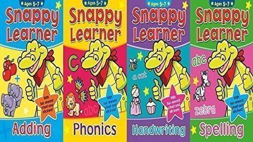 Snappy Learner pour Âge: 5 pour 7 Ans - JEU DE 4 LIVRES
