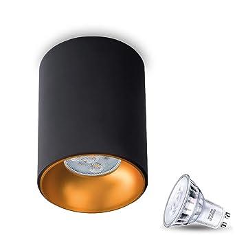 Strahler Spot Aufbaustrahler Deckenleuchte LED Metall Modern