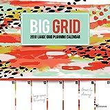 2018 Big Grid Planning Wall Calendar