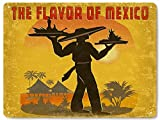 Yetta Quiller Mexican restaurant food METAL sign Mexico resort vintage style diner deli wall decor 30x40cm. art
