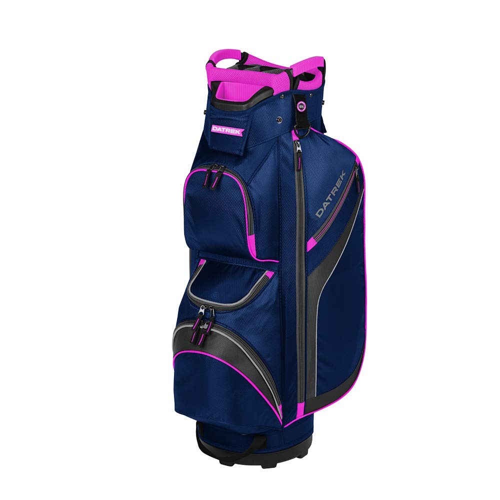 Datrek Unisex DG Lite II Cart Bag Navy/Pink/Silver by Datrek
