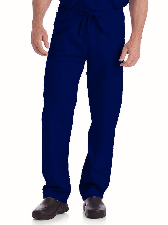a2e71a253a4 Amazon.com: Landau Unisex Reversible Drawstring Scrub Pants: Medical Scrubs  Pants: Clothing