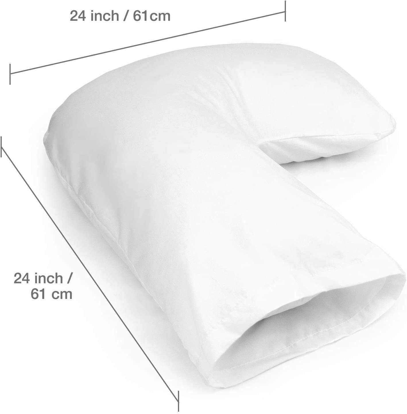 DMI Hugg A Pillow Hypoallergenic Bed