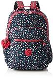 Kipling Seoul Up Large Backpack With Laptop Protection Pink Summer Pop