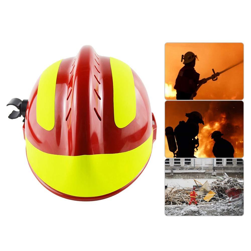 Casco de Seguridad, Casco de Rescate Sombrero de Bombero ...
