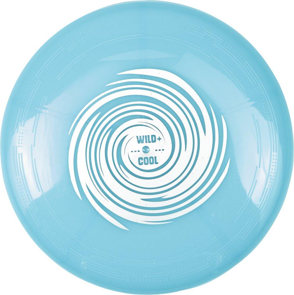 Wild and Cool Spiegelburg 15077 - giocattoli, tempo libero, sport - Frisbee dei pirati - colore blu luminescente per la notte con LED e batterie incluse - divertente gioco all'aria aperta