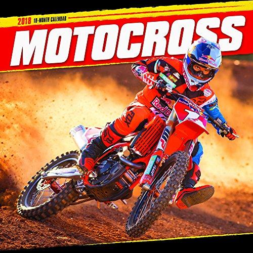 2018 Motocross Wall Calendar for cheap