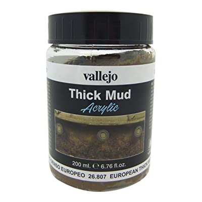 Vallejo European Thick Mud Model Paint Kit: Toys & Games