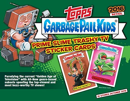 2016 Topps GPK Garbage Pail Kids Card Stickers Series 2 Trashy TV Retail Box - 160 ()