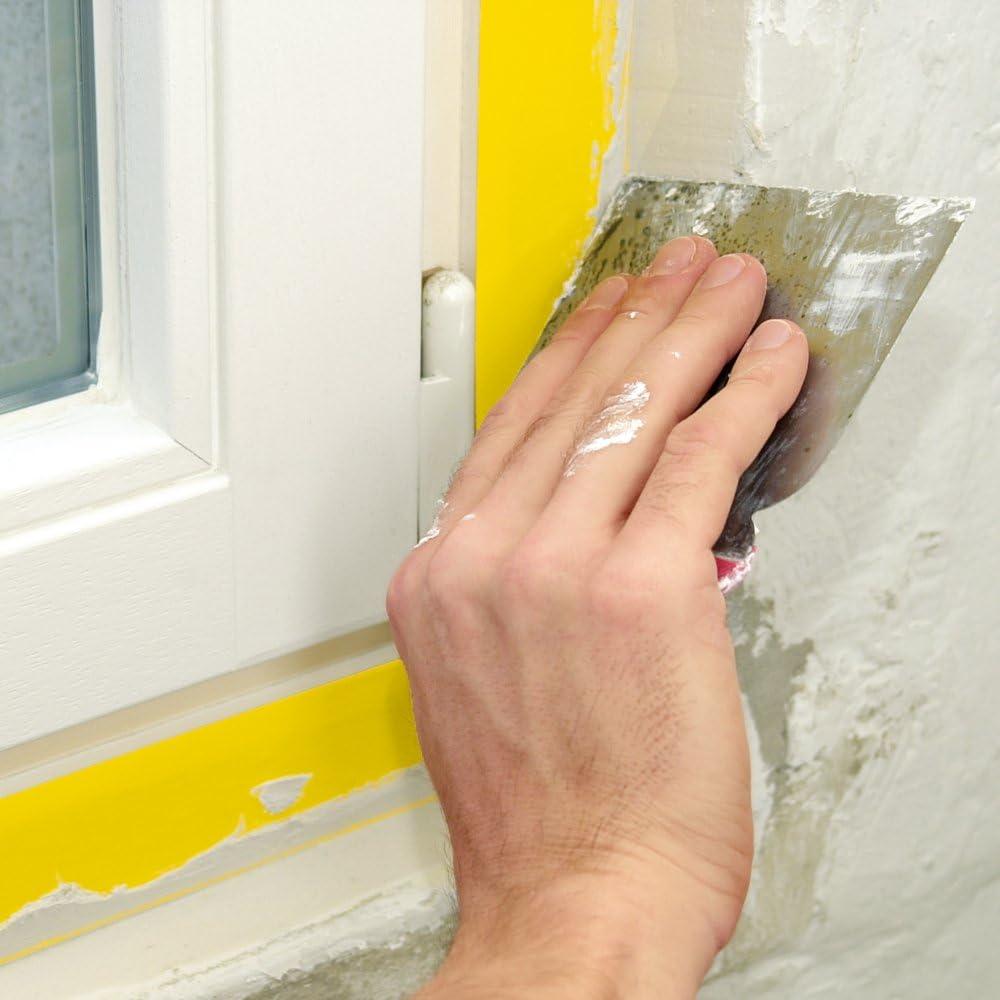 Tesa 55446-00011-01 Ruban extra fort de protection pour Peinture et pl/âtre 33 m x 50 mm Jaune