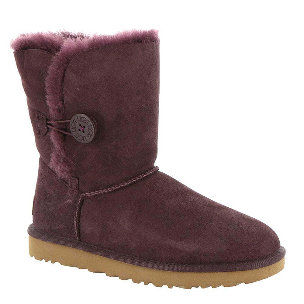 UGG Womens Bailey Button II Port 5 B - Medium