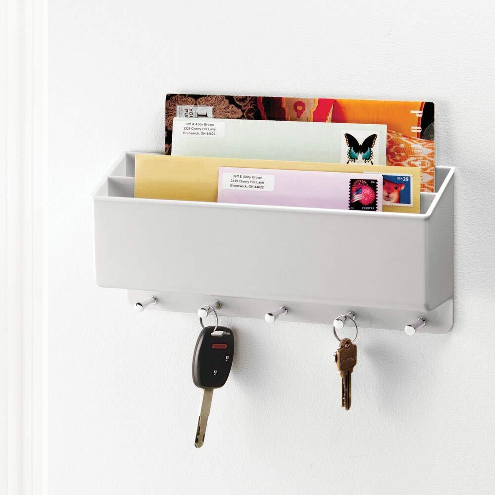 Amazon.com: mDesign - Cesta de almacenamiento de plástico ...