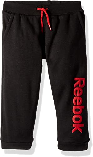 Reebok Pantalones de chándal de Forro Polar para niños - Rojo - 24 ...