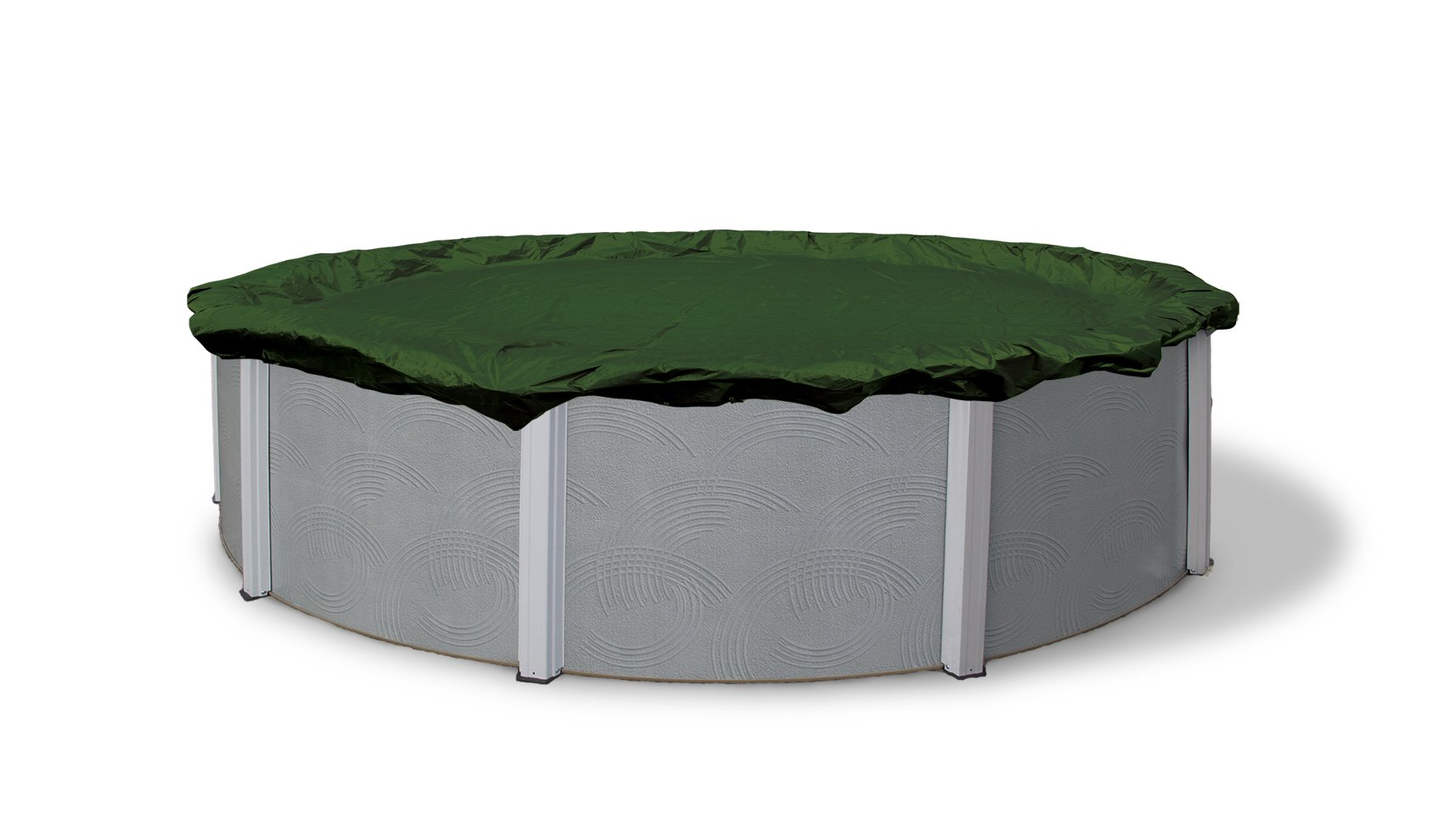 Blue Wave Silver 12-Year 30-ft Round Above Ground Pool Winter Cover